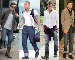 Mannen laarzen.